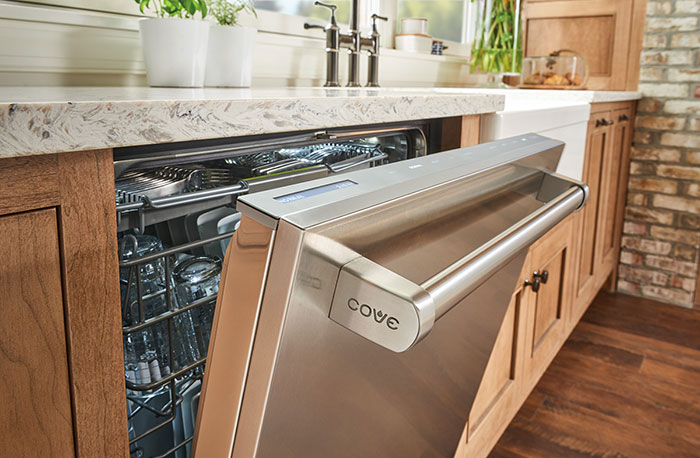 Cove Dishwashers From Sub Zero Group, Inc. Understand That The Consumer Is  Most Concerned With Cleaning Performance And Making Everything Fit.